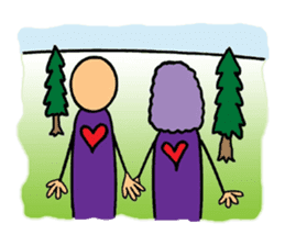 Purple People 2 sticker #1383869