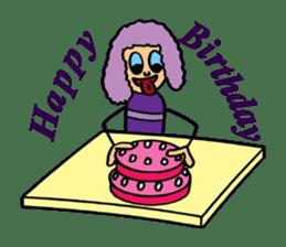 Purple People 2 sticker #1383876