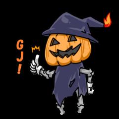 Jack-o-lantern the Pumpkin Man