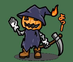 Jack-o-lantern the Pumpkin Man sticker #1383986