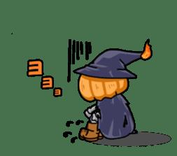 Jack-o-lantern the Pumpkin Man sticker #1383991