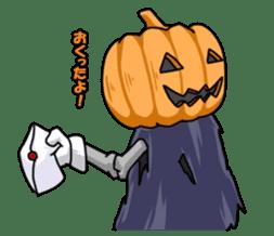 Jack-o-lantern the Pumpkin Man sticker #1383993