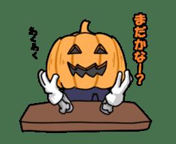 Jack-o-lantern the Pumpkin Man sticker #1383994