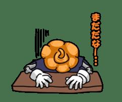 Jack-o-lantern the Pumpkin Man sticker #1383995