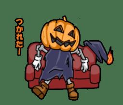 Jack-o-lantern the Pumpkin Man sticker #1383998