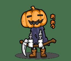 Jack-o-lantern the Pumpkin Man sticker #1384000