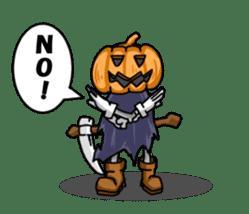 Jack-o-lantern the Pumpkin Man sticker #1384001