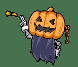 Jack-o-lantern the Pumpkin Man sticker #1384002