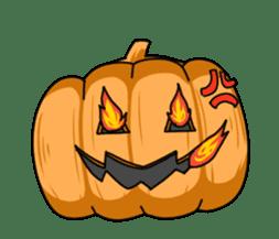 Jack-o-lantern the Pumpkin Man sticker #1384003