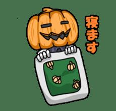 Jack-o-lantern the Pumpkin Man sticker #1384005