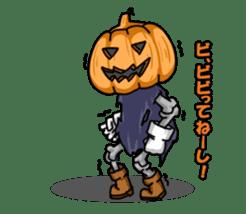Jack-o-lantern the Pumpkin Man sticker #1384008