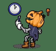 Jack-o-lantern the Pumpkin Man sticker #1384010