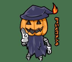 Jack-o-lantern the Pumpkin Man sticker #1384013