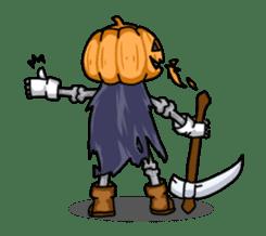 Jack-o-lantern the Pumpkin Man sticker #1384015