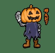 Jack-o-lantern the Pumpkin Man sticker #1384018