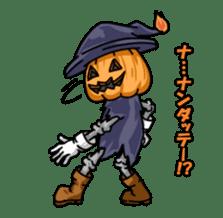 Jack-o-lantern the Pumpkin Man sticker #1384019