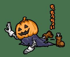 Jack-o-lantern the Pumpkin Man sticker #1384020