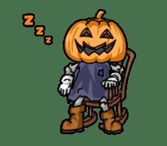 Jack-o-lantern the Pumpkin Man sticker #1384024