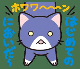 Combination cat sticker #1384529