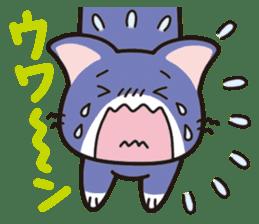 Combination cat sticker #1384537