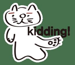 I Am a CAT sticker #1385095