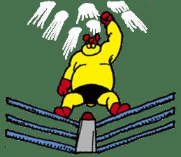 mighty-bear sticker #1385143