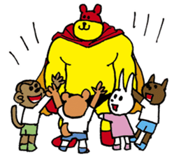 mighty-bear sticker #1385146