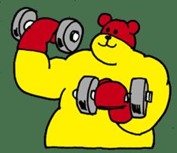 mighty-bear sticker #1385152