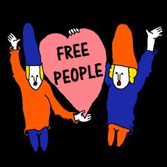 FREE PEOPLE!