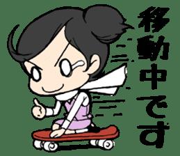 Dogeza Woman sticker #1386060