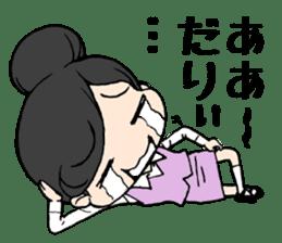 Dogeza Woman sticker #1386061