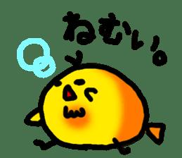 HIYOKKO-chick sticker #1387310
