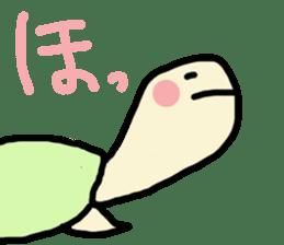 Reeve's Turtle sticker #1387943
