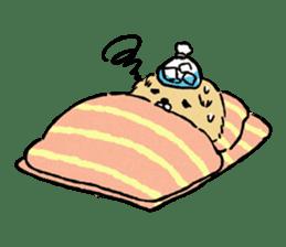 Soft and fluffy dog pu-chan! sticker #1389835