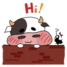 Holy Cow! sticker #1390282