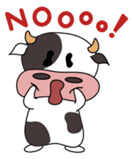 Holy Cow! sticker #1390304