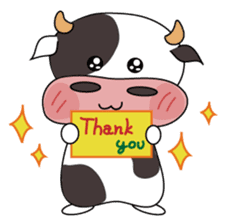 Holy Cow! sticker #1390305
