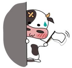 Holy Cow! sticker #1390310