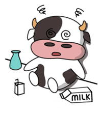 Holy Cow! sticker #1390317