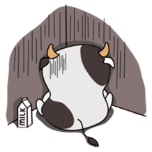 Holy Cow! sticker #1390321