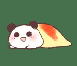 Panda Omelet sticker #1394650