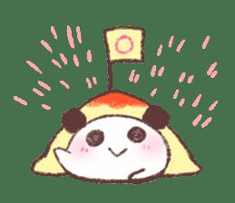 Panda Omelet sticker #1394651