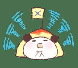 Panda Omelet sticker #1394652