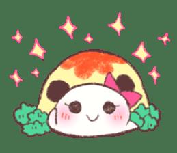 Panda Omelet sticker #1394656