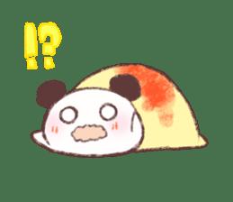 Panda Omelet sticker #1394660