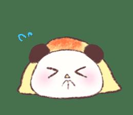 Panda Omelet sticker #1394662