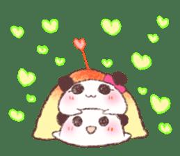 Panda Omelet sticker #1394667