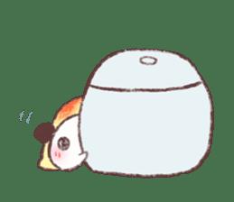 Panda Omelet sticker #1394670