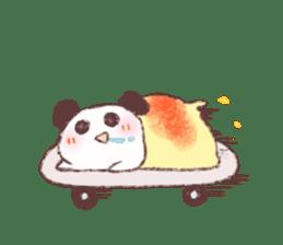 Panda Omelet sticker #1394671