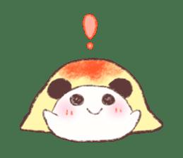 Panda Omelet sticker #1394672